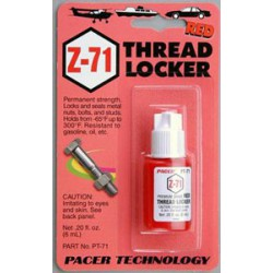 Zap Z71 permanent threadlock