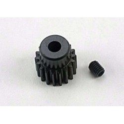 Traxxas Gear, 18-T pinion (48-pitch) / set screw