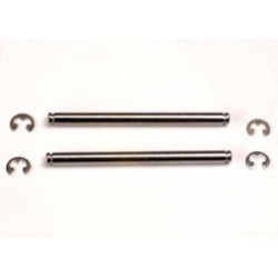 Traxxas Suspension pins, 44mm (2) w/ E-clips