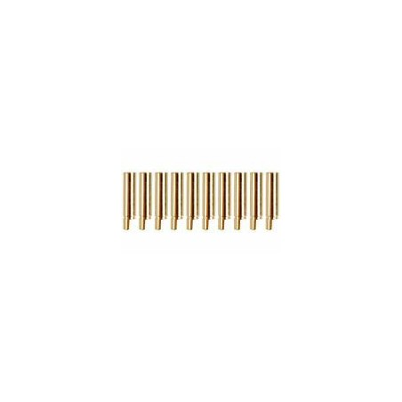 Yuki Gold connector Ø4,0mm female 1pcs