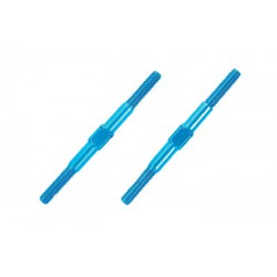 Tamiya Aluminum Turnbuckle Shaft - 3x42mm (2pcs)