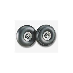 "Dubro 2-3/4"" Dia. Treaded Surface Wheels (2)"