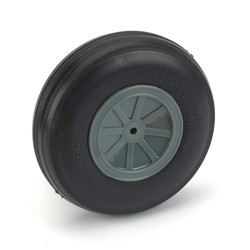 "Dubro 4-1/2"" Dia. Treaded Lightweight Wheel (1)"