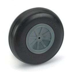 "Dubro 5"" Dia. Treaded Lightweight Wheel (1)"