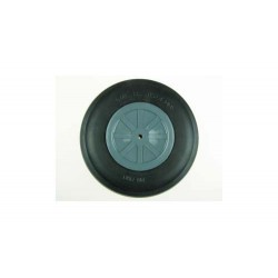 "Dubro 6"" Dia. Treaded Lightweight Wheel (1)"