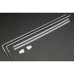 "Dubro 3/32"" E/Z Adjust Strip Aileron Horn Set"