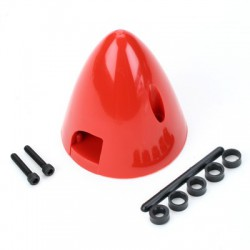 "Dubro 2-3/4"" Spinner Red"