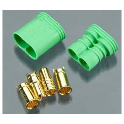 G6.5mm bullet connector m+f
