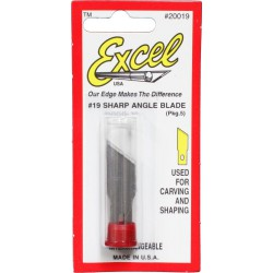 Excel, Sharp angle blade, 5 pcs.