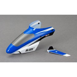 Blade, Complete Blue Canopy with/ Vertical Fin: BMSR