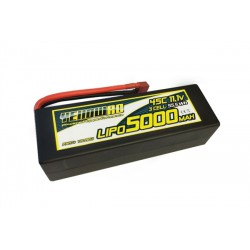Yellow 5000mah 3c 11.1V lipo 45C