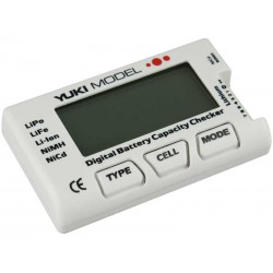 Yuki Digital battery capacity checker