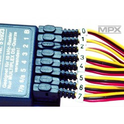 Multiplex cable marker