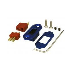 Yuki model Mounting frame • gold connector • compatible with Deans T-Plug