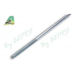 A2pro model push rod • M2 • Ø1,7 x 300mm • with partial thread (10)