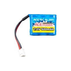 Ace 7.2V 500mAh Square NiMH Battery