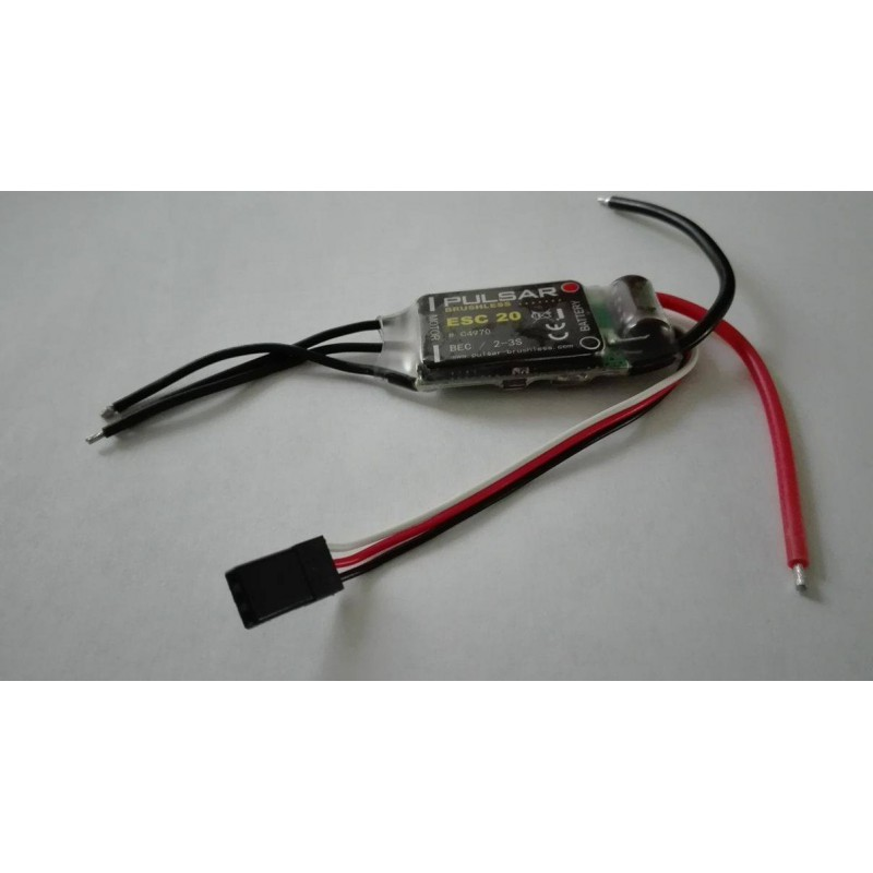 Pulsar brushless esc 20