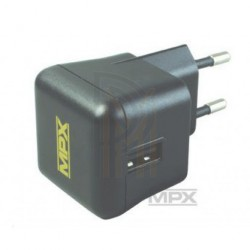 Multiplex charger USB 100-240V AV