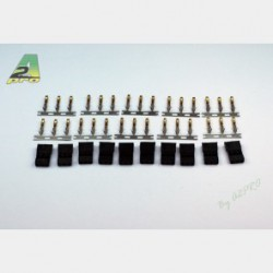A2 pro Gold plated JR male connector (10)