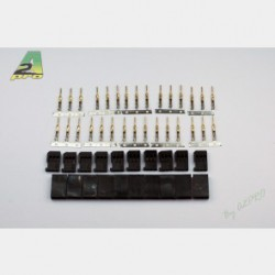 A2 pro Gold plated Futaba female connector (10pcs)