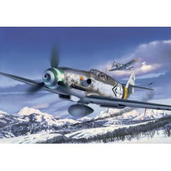 Revell Messerschmitt Bf109 G-6 Late & early version