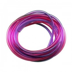 Robart 10 ft. Pressure Tubing 5' Red & 5' Purple