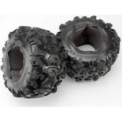 "Traxxas Tires, Canyon AT 3.8"" (2)/ foam inserts (2)"