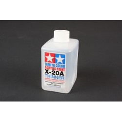 Tamya Acrylic Paint Thinner X-20A 250ml bottle