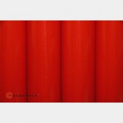 Oracover bright red per meter