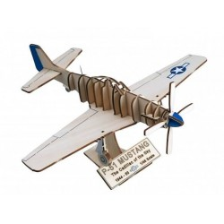 Art & Wood Craft - P-51 Mustang