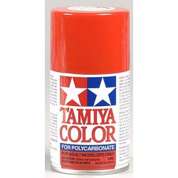 Tamya PS34 Bright Red - Ferrari-rood