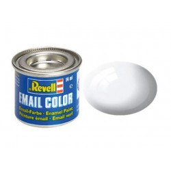 Revell 04 white,gloss RAL 9010 14 ml-tin