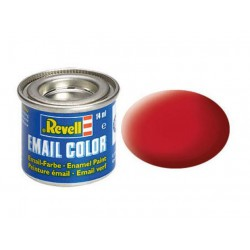 Revell 36 carmine red, mat RAL 3002 14 ml-tin
