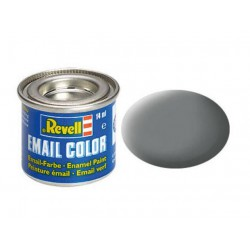 Revell 47 mouse grey, mat RAL 7005 14 ml-tin
