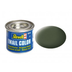Revell 65 bronze green, mat RAL 6031 14 ml-tin
