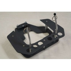 Radio Tray Carbon optik Futaba T8j/T10j