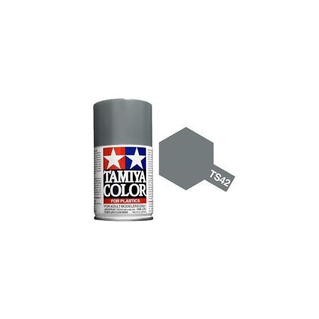 Tamiya TS42 Light Gun Metal, 100ml