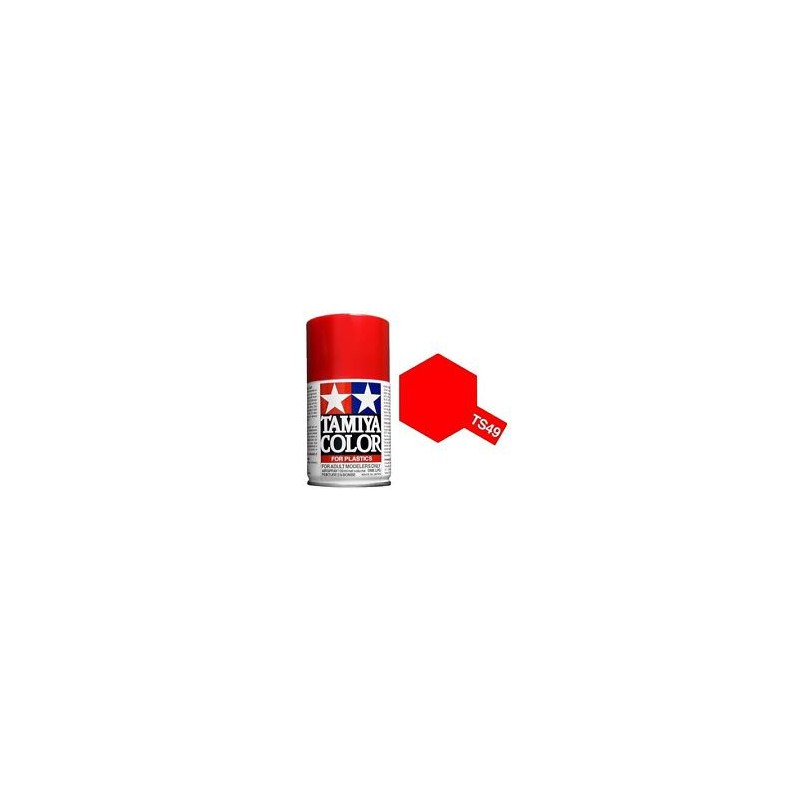 Tamiya TS49 Bright Red, 100ml