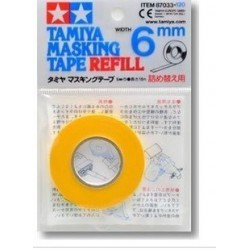 Tamiya Masking Tape 6mm Refill Pack 18m